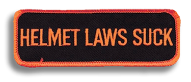 Helmet Laws Patch